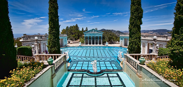 Neptune's Nook - Outdoor Pool at Hearst Castle